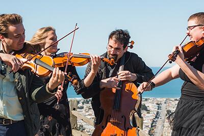 Canon in D Sutro String Quartet