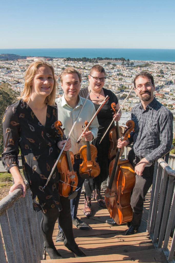 Sutro String Quartet The perfect quartet