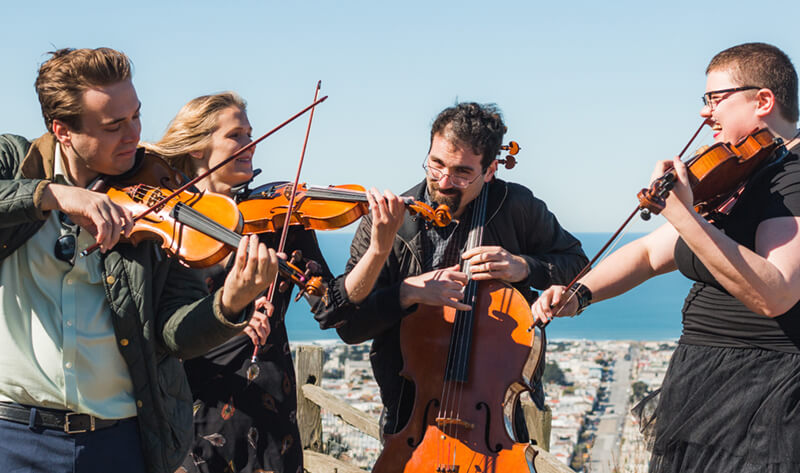 Sutro String Quartet weddings
